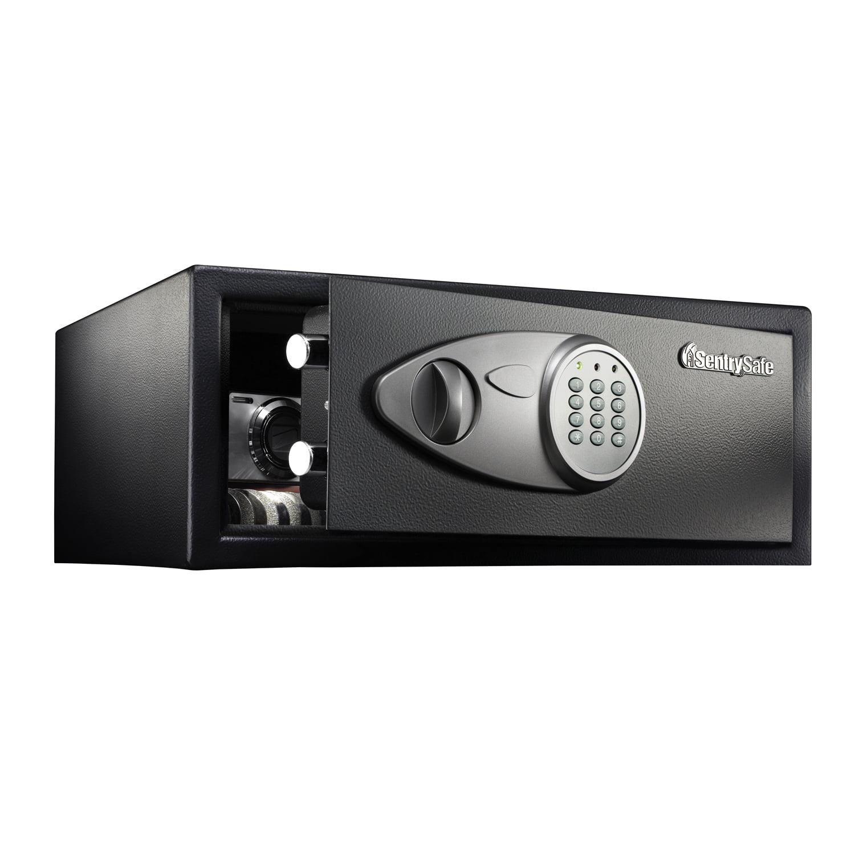 SentrySafe Security Safe, Medium-Wide Digital Lock Safe, 0.7 Cubic Feet, X075 by SentrySafe