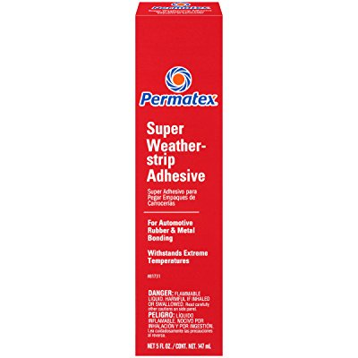 Permatex 81731 Super Weatherstrip Adhesive, 5 oz.