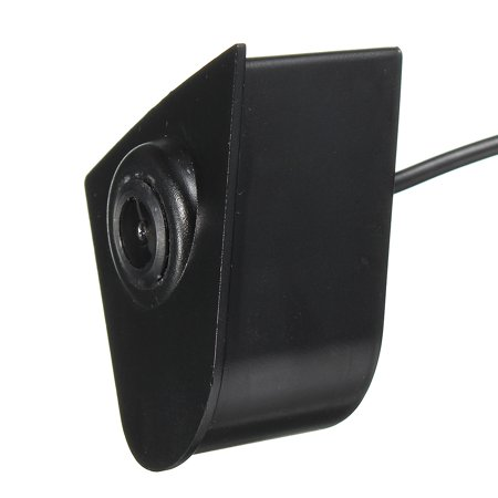 Car Front View CCD Camera Lens Waterproof Wide Degree Logo Embedded For Honda US - image 11 de 12