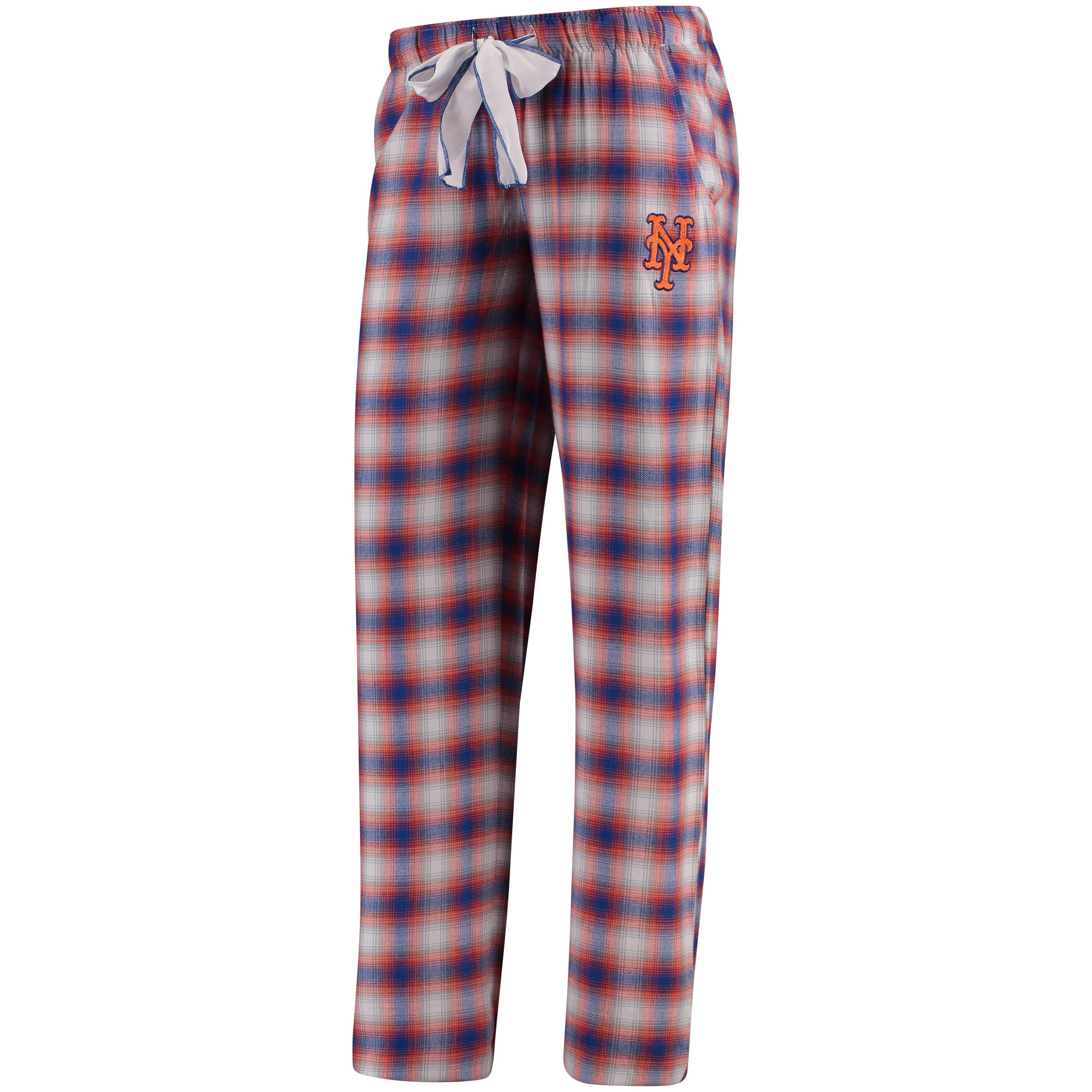 New York Mets Concepts Sport Women's Forge Flannel Pants - Royal