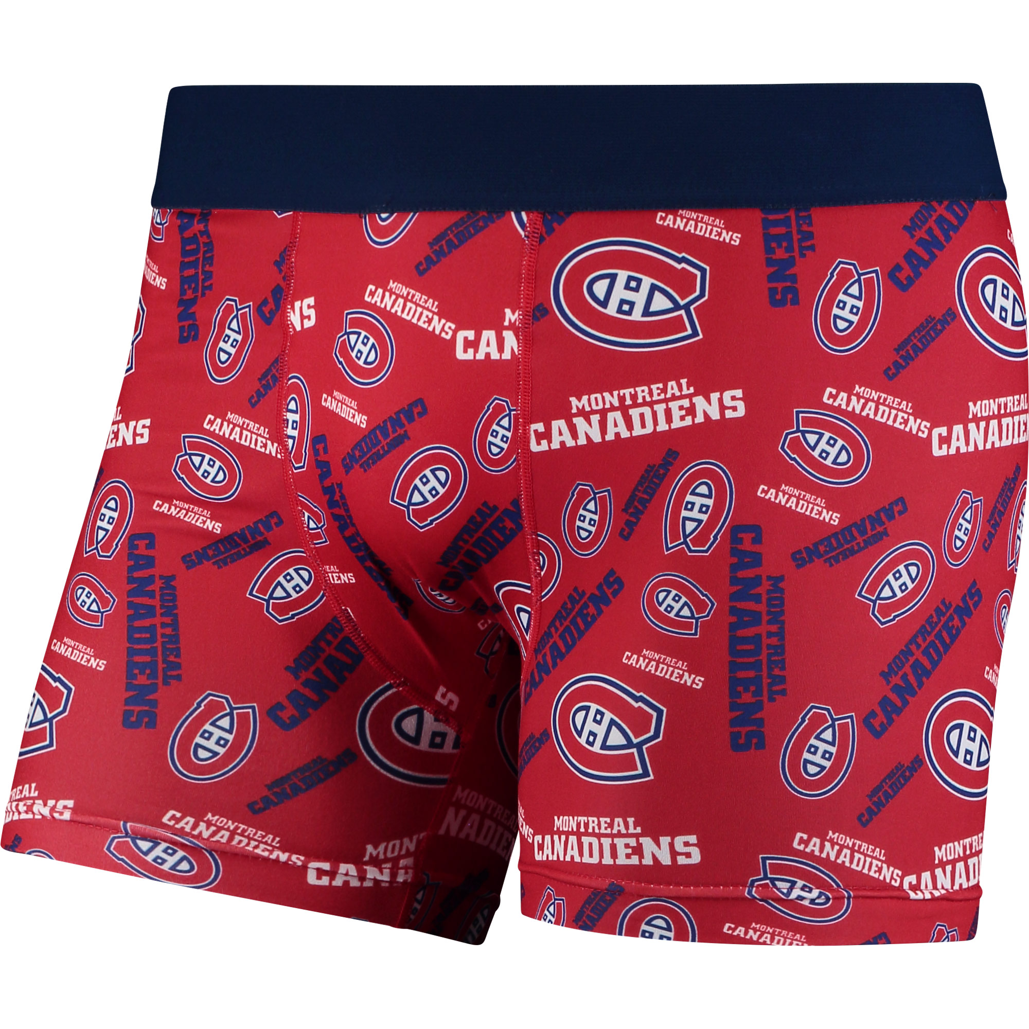 Montreal Canadiens Repeat Logo Compression Underwear - Red