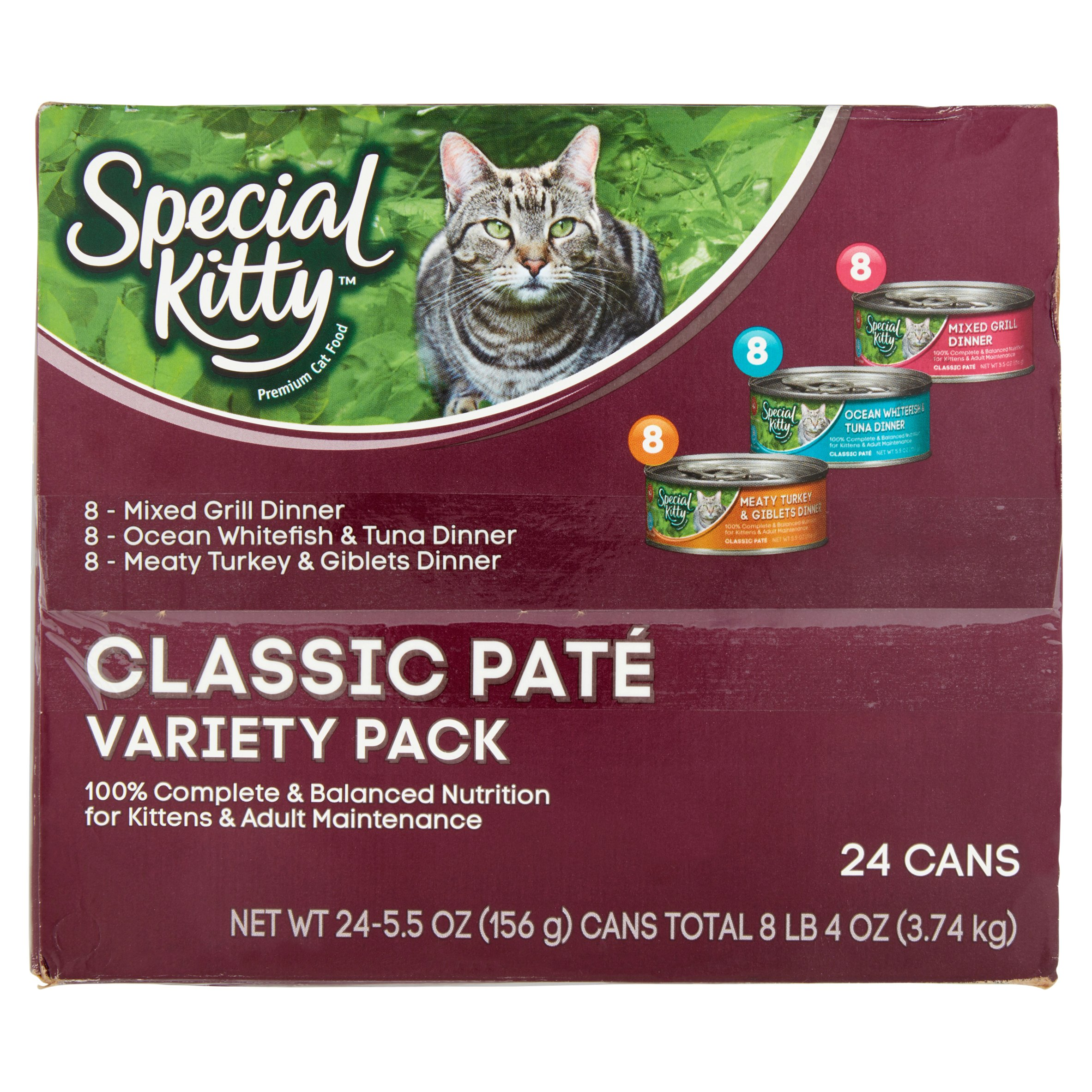 Special kitty adult cat food