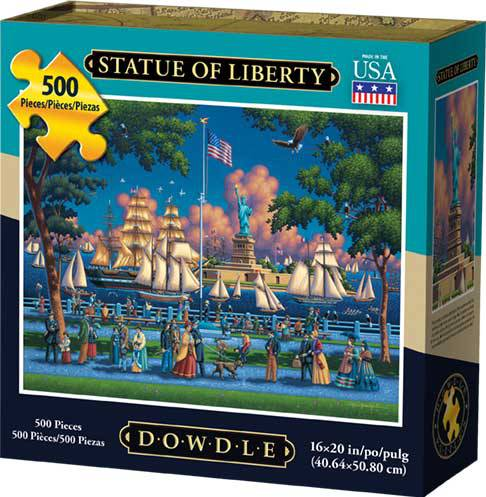 Dowdle Jigsaw Puzzle - Statue of Liberty - 500 Piece