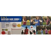 MD Sports 5 in 1 Backyard Game Combo Set