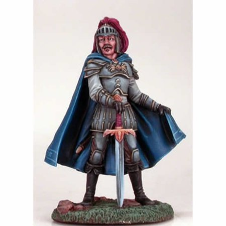 Male Paladin With Broad Sword Miniature Easley Masterworks Dark Sword