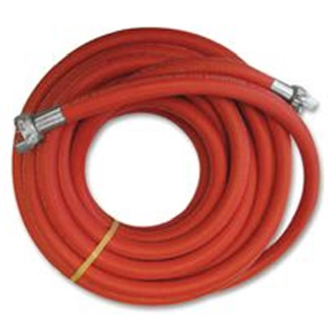 Continental Contitech 713-20665550 Jackhammer Air Hose Assembly, 200Psi, 0.75 in. in. Dia, 1.25 in. Out Dia, 50 Ft, Red