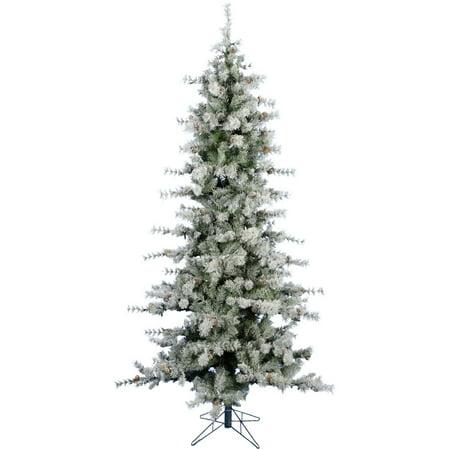Fraser Hill Farm 9 Ft. Buffalo Fir Slim Artificial Christmas