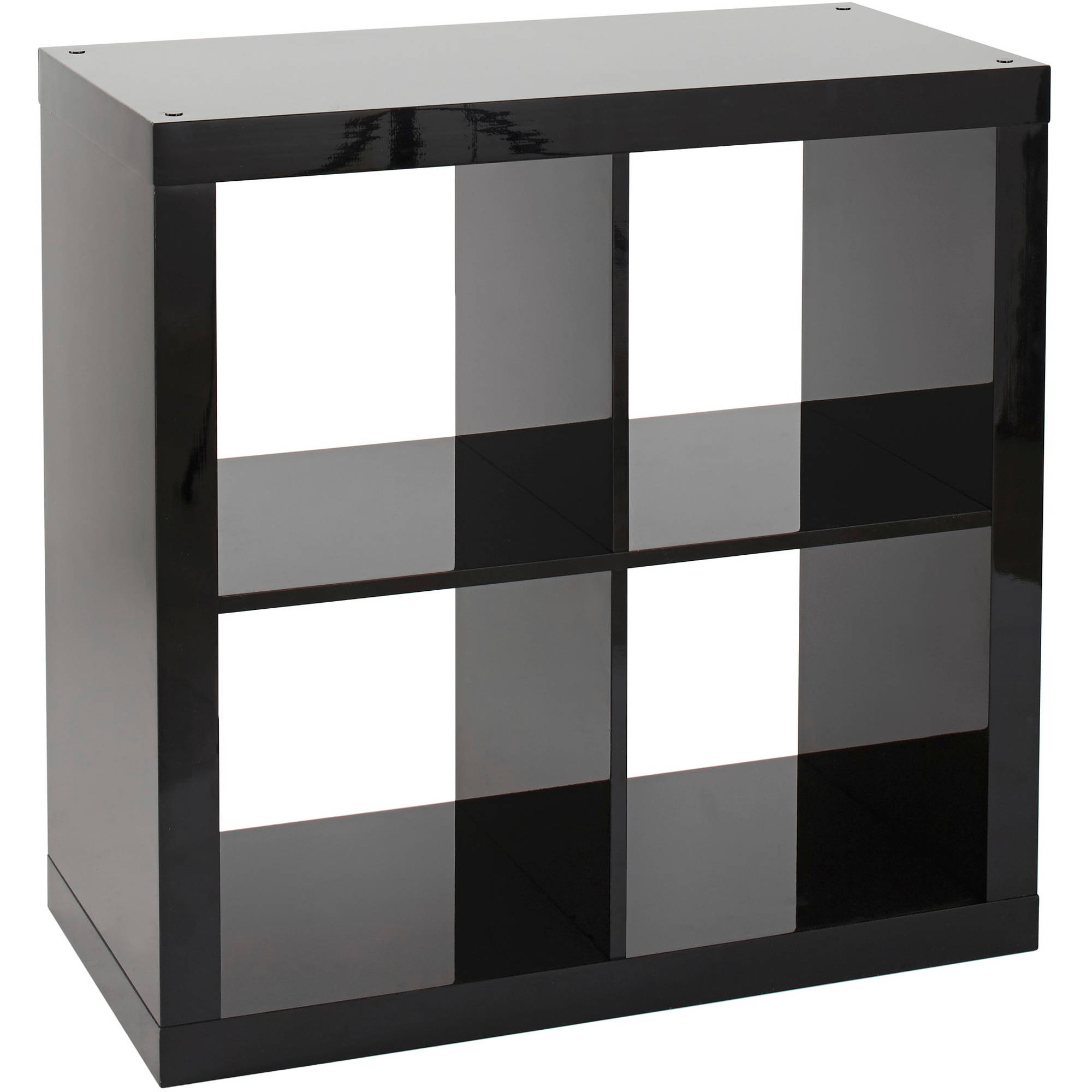Better Homes and Gardens Square 4-Cube Storage Organizer, Multiple ...