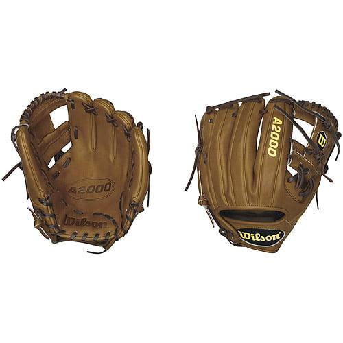 "Wilson A2000 DP15 Dustin Pedroia Game Model Infield Baseball Glove, 11.5"""