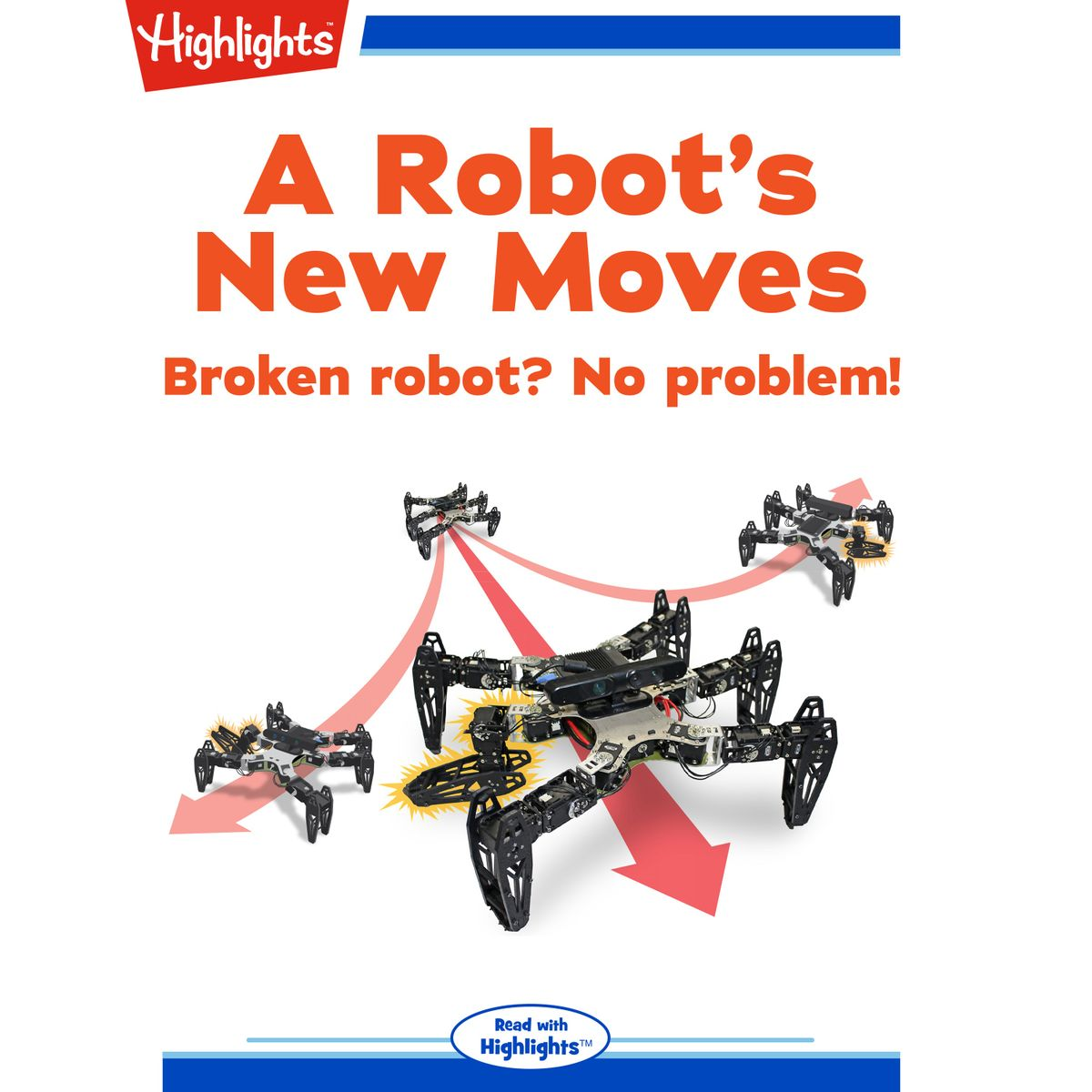 Robot's New Moves, A - Audiobook