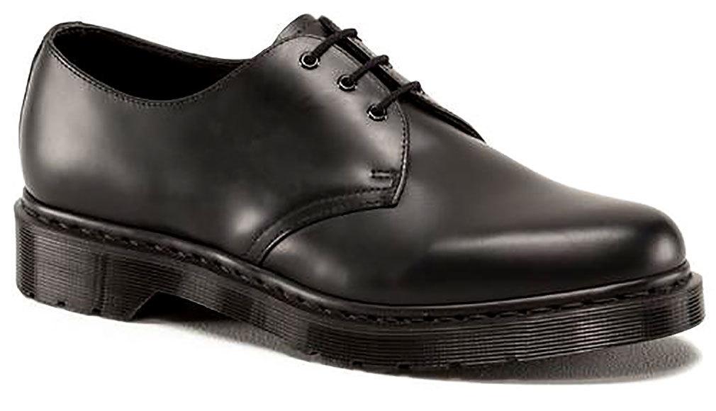 Dr. Martens 1461 Shoe,Black Smooth,12 UK 13 M US by