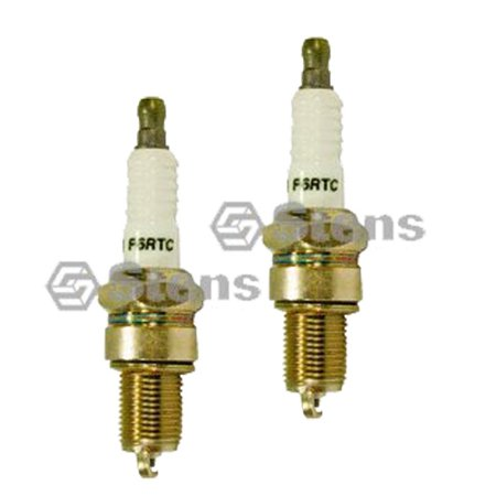 Stens 131-039-2PK Spark Plug Replaces Torch F6RTC MTD 751-10292 (2 Pack)