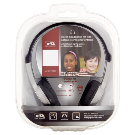 Acm 7000 Wired Stereo Headphone For Children   Over The Head   Semi Open   20Hz   20Khz   Mini Phone