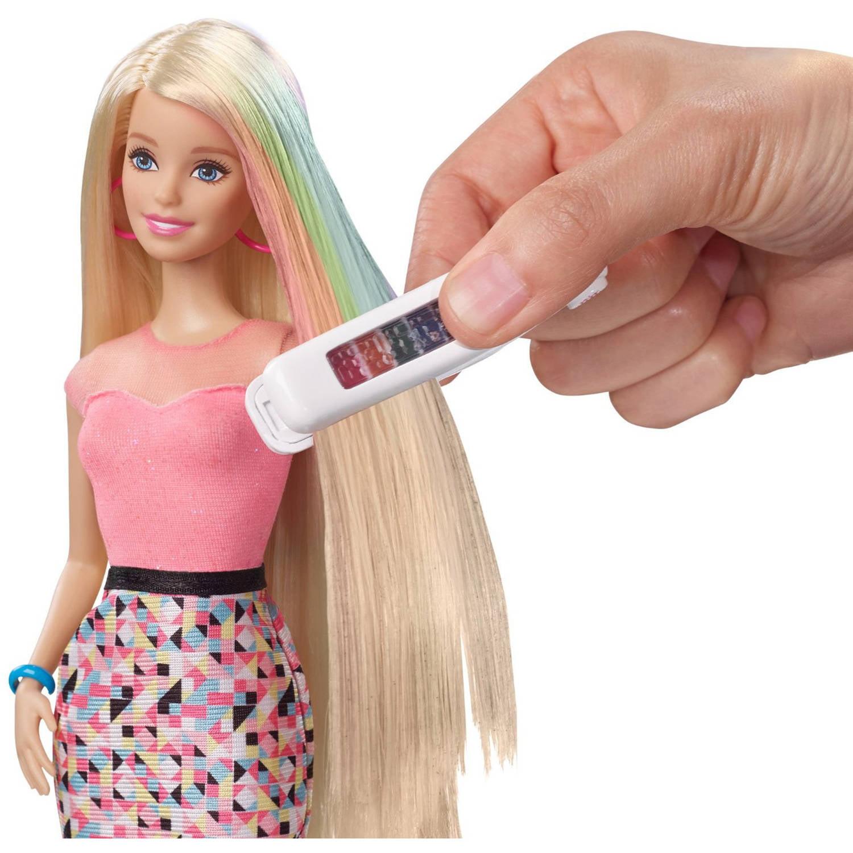 Barbie Rainbow Hair Doll - Walmart.com