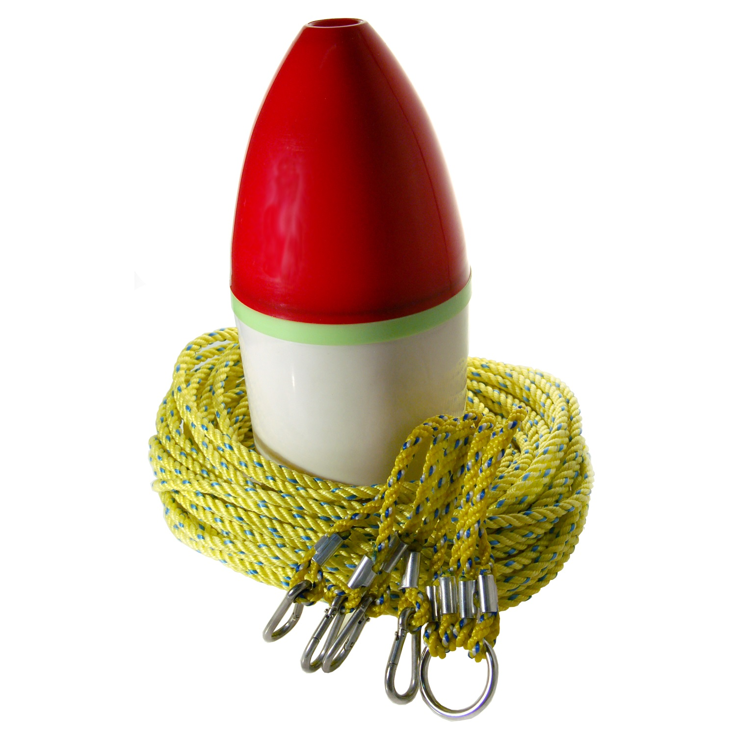 Danielson Crab Trap Float Kit w/ Lead Core Rope-100ft