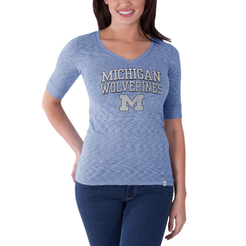 Michigan Wolverines - Roster Premium Juniors T-Shirt