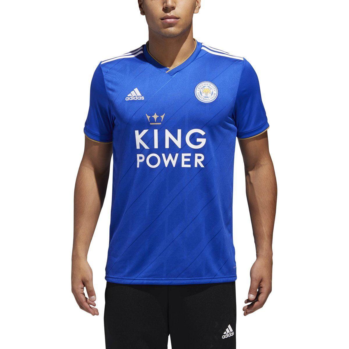 adidas Leicester City Home Men's Soccer Jersey 2018-19   DM3413