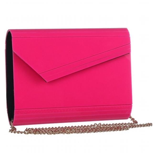 Mad Style 317823 Acrylic Slant Envelope, Pink