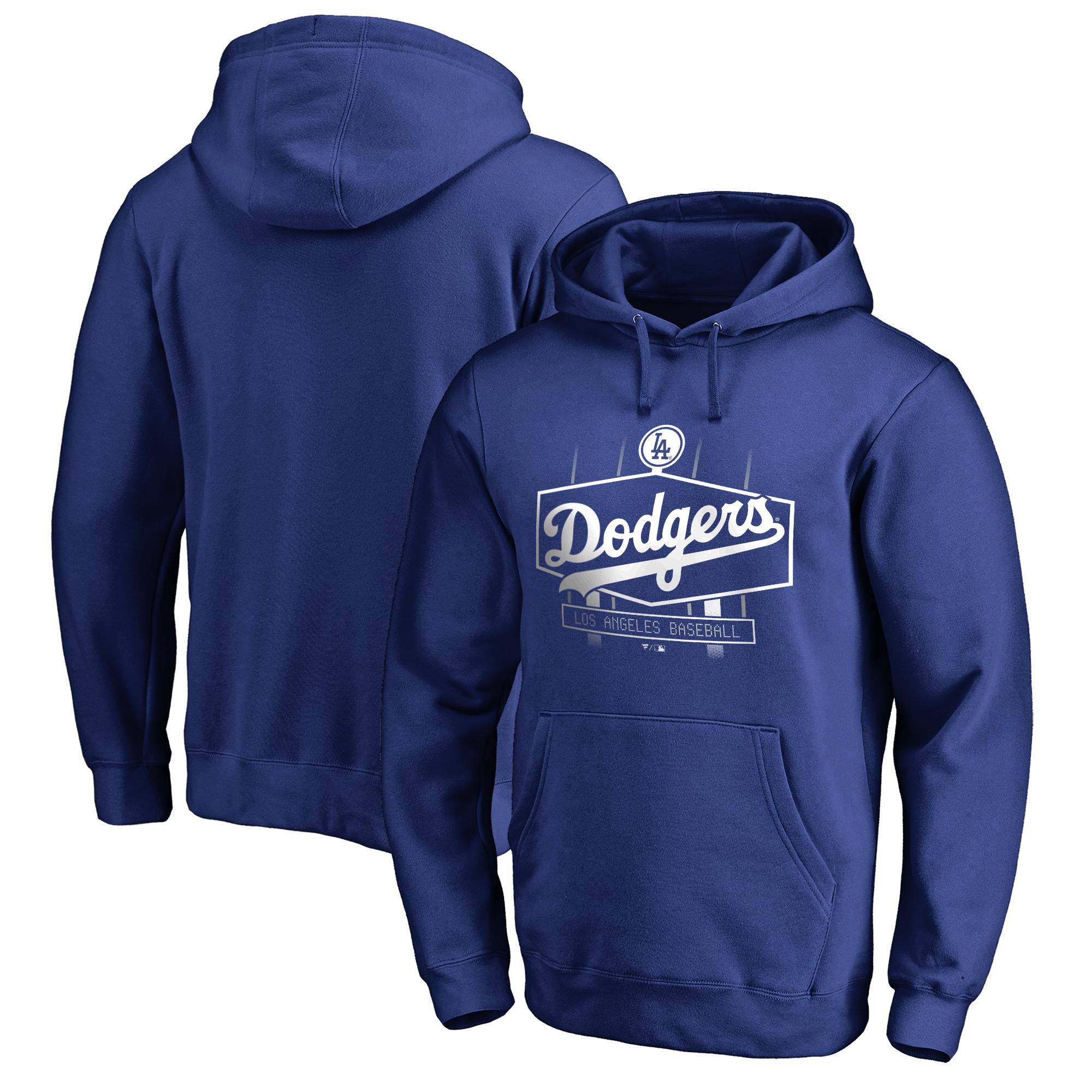 Los Angeles Dodgers Fanatics Branded Hometown Scoreboard Pullover Hoodie - Royal