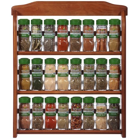 - McCormick Three Tier Wood Organic Spice Rack count