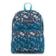 Superbreak School Backpack - Navy Moonshine Island Ombre - Silver