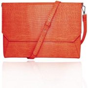"WIB Francine Collection Lenox Carrying for 13"" Tablets, Orange"