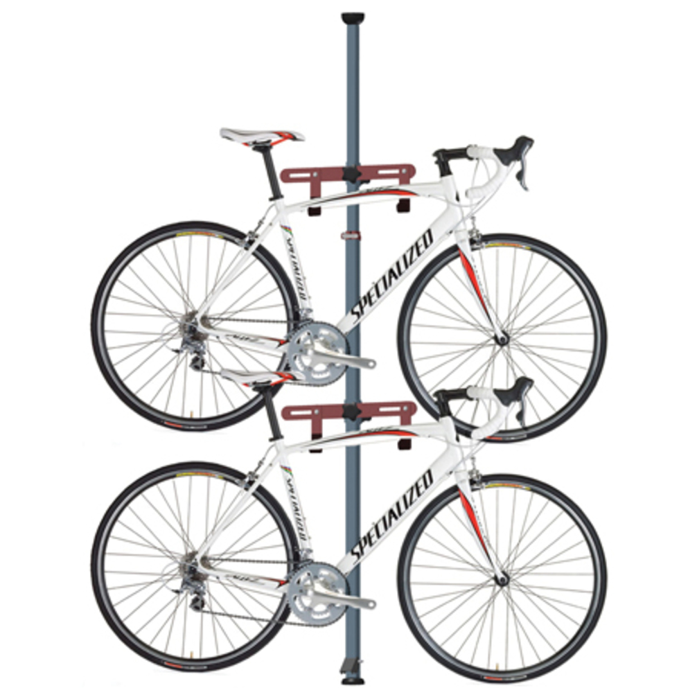 Gear Up Inc. Platinum Series 2 Bike Floor to Ceiling Storage Rack by Gear Up