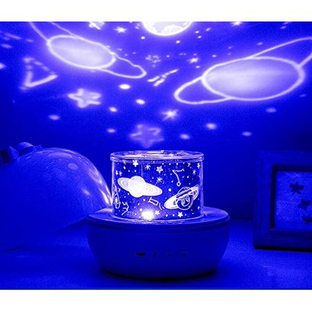 Night Light for Kids, Baby Light Projector with Music , 6 Theme Colorful Projector for Girls Boys - image 8 of 8