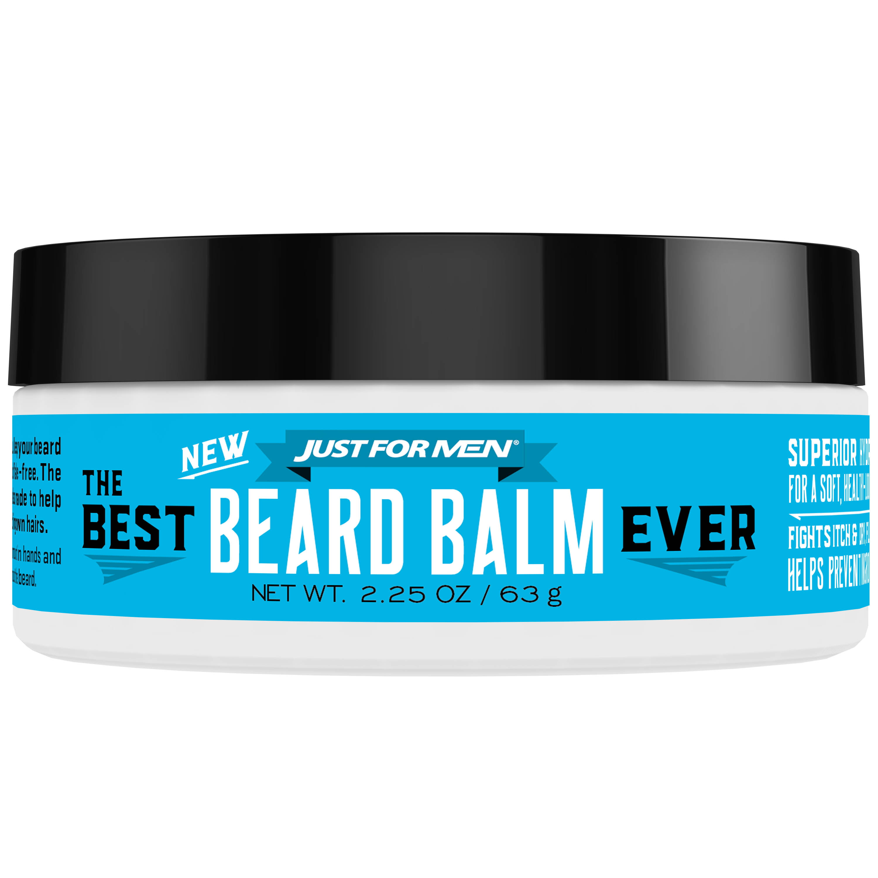 Just For Men, The Best Beard Balm Ever, For a Soft, Healthy