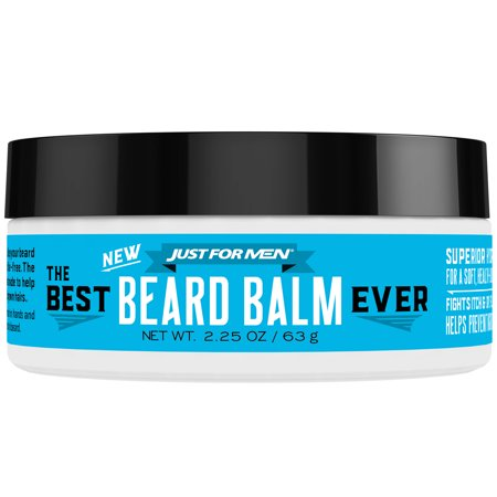 Just For Men, The Best Beard Balm Ever, For a Soft, Healthy - Looking Beard, 2.25 Ounce (63