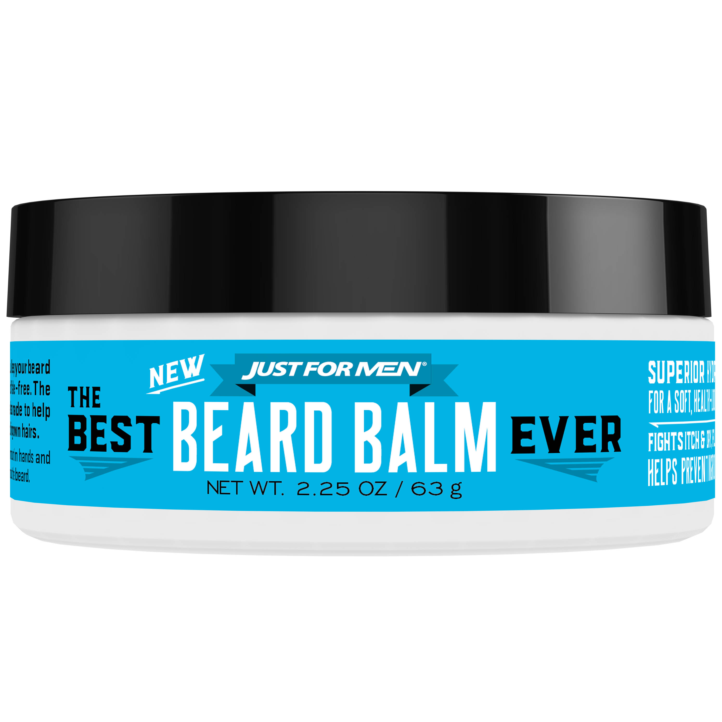 Just For Men, The Best Beard Balm Ever, For a Soft, Healthy - Looking Beard, 2.25 Ounce (63 grams)