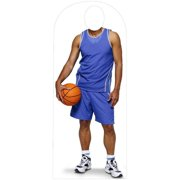 Advanced Graphics 924 Basketball Stand In Life-Size Cardboard Stand-Up
