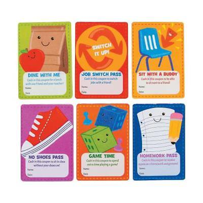 IN-13803039 Classroom Coupon Books 6 Piece(s) 2PK