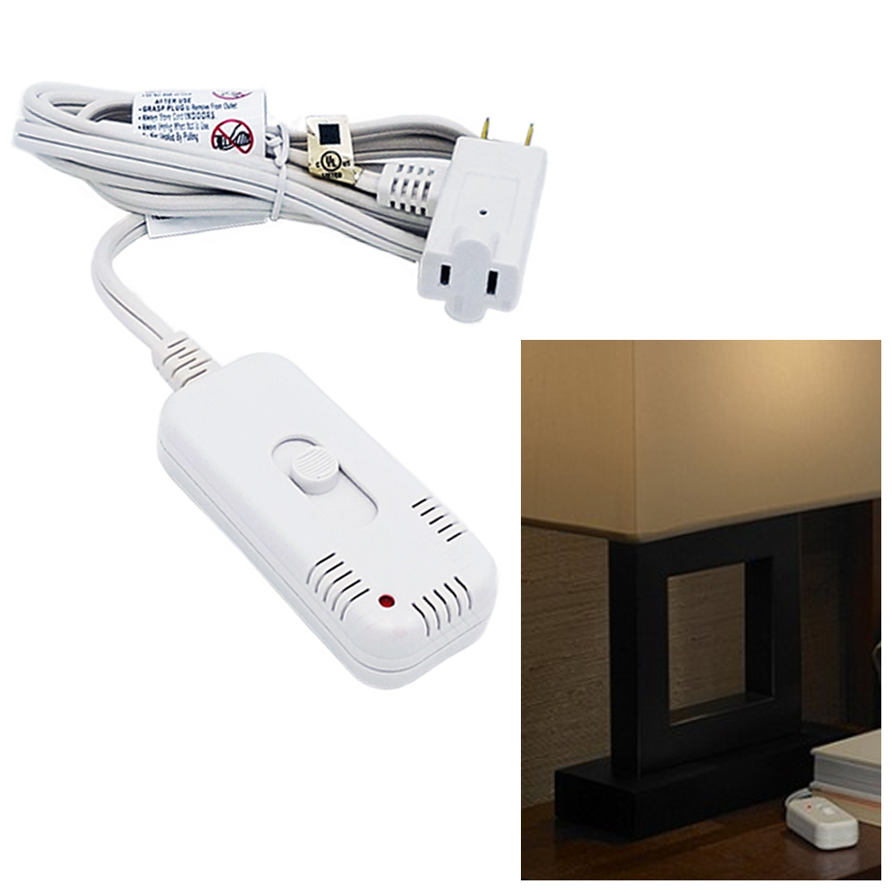 1 Light Dimmer Switch 6ft Extension Cord Plug In