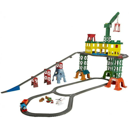 Thomas & Friends Super Station Railway Train Track (Landmark Wood Train Set)