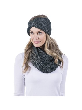 Katydid Women's Knit Head Wrap, Black
