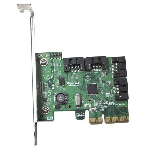 Highpoint Tech ROCKET640L Pcie-2.0 Host Adapter