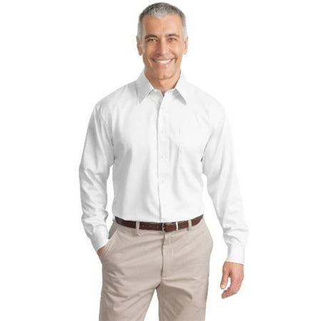 Port Authority®Non-Iron Twill Shirt.  S638 White Xs - image 1 de 1