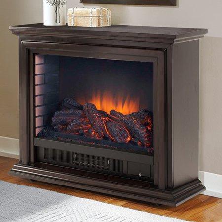 Charlton Home Mashpee Electric Fireplace