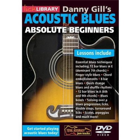Acoustic Blues for Absolute Beginners by Danny Gill (DVD)