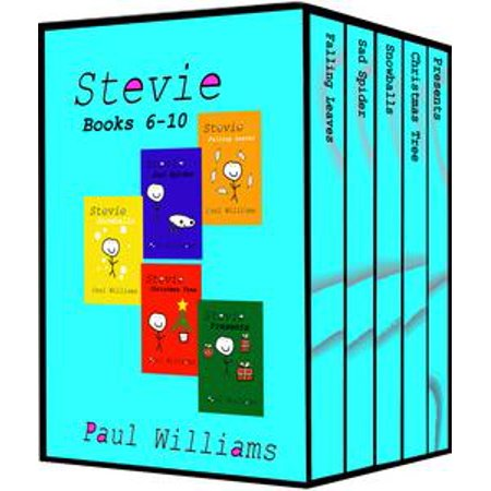 Stevie - Series 2 - Books 6-10: Vol 6 - 10. Falling Leaves, Sad Spider, Snowballs, Christmas Tree and Presents. - eBook (Stevie X Factor Halloween)