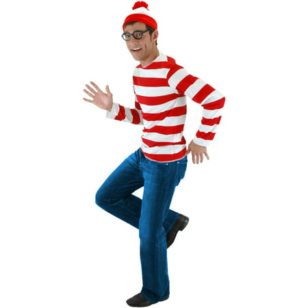 Where's Waldo Costume Kit - (Where's Waldo Costumes Kit)