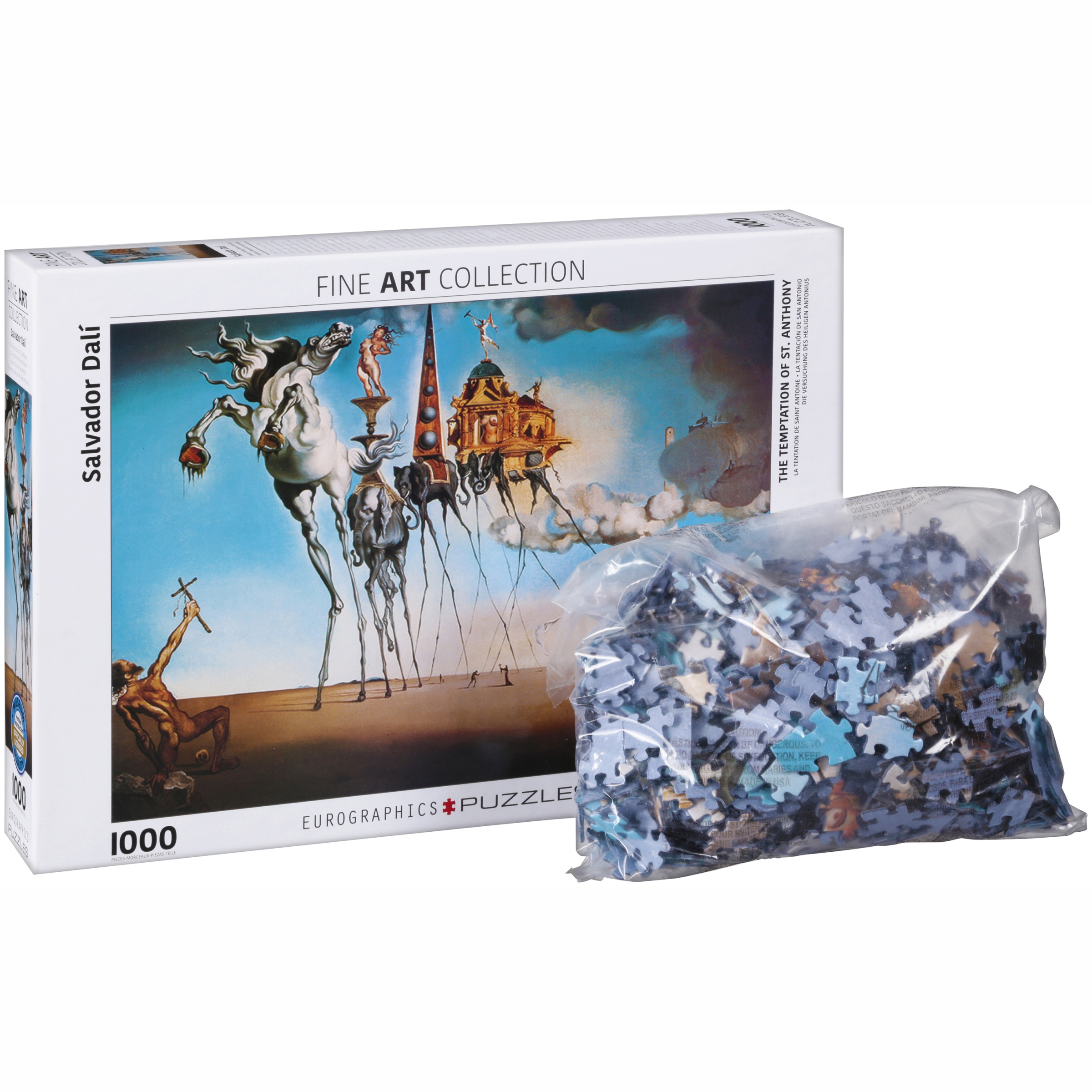 EuroGraphics Fine Art Collection Salvador Dali The Temptation of St. Anthony Puzzle 1000... by EuroGraphics