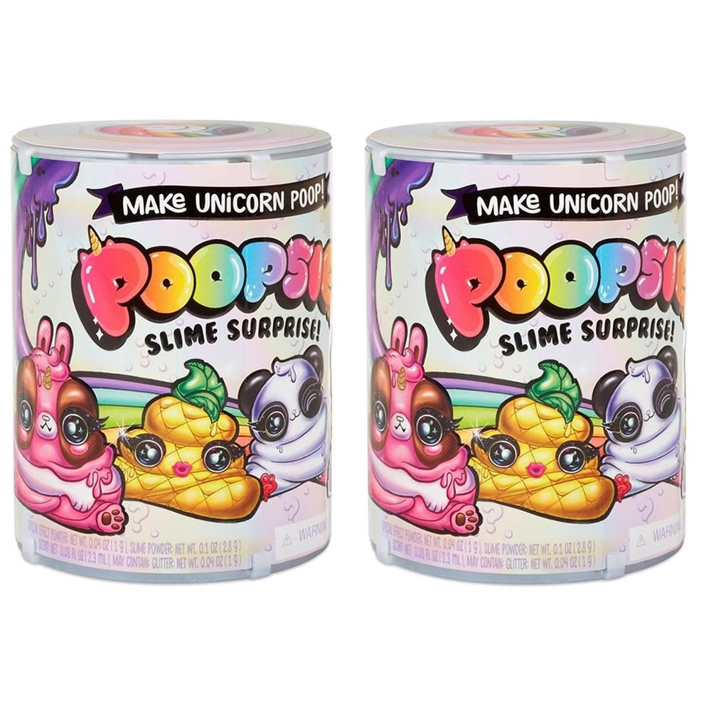 Poopsie Slime Surprise Pack Series 1 2-Pack Unicorn Magical Sparkle Poop MGA
