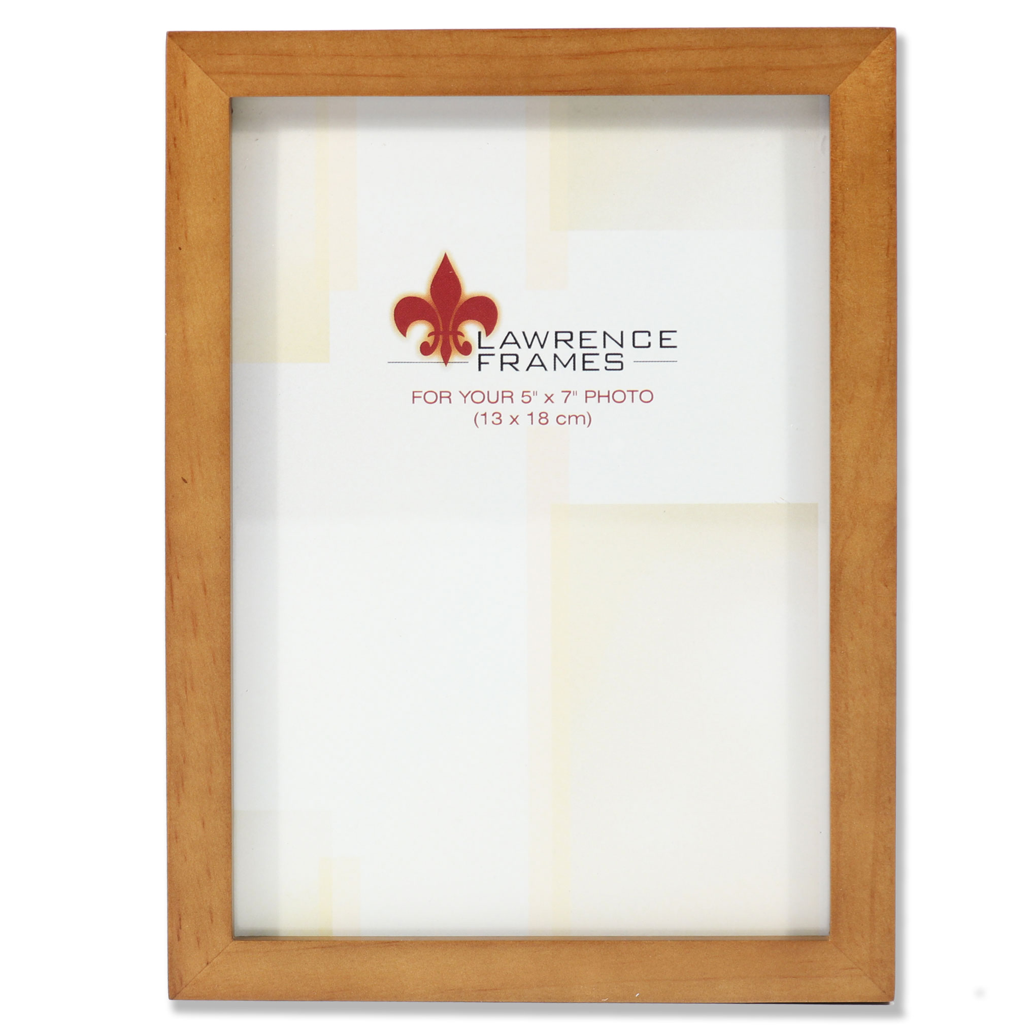 766057 Nutmeg Wood 5x7 Picture Frame