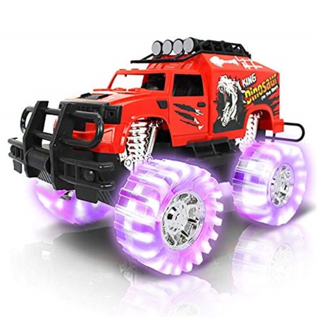 ArtCreativity Light-Up Red Monster Truck | 11
