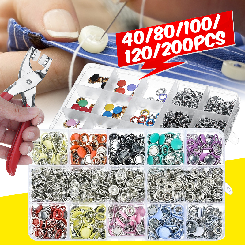 Manual Hand Press Machine for Buttons Eyelets, Grommets Snap Buttons Rivets