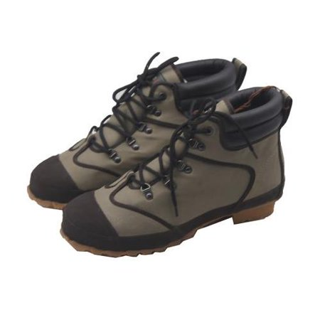 Pro Line Men's 52502 Nylon Wading Boots with Felt Outsole, 8 Green US ()