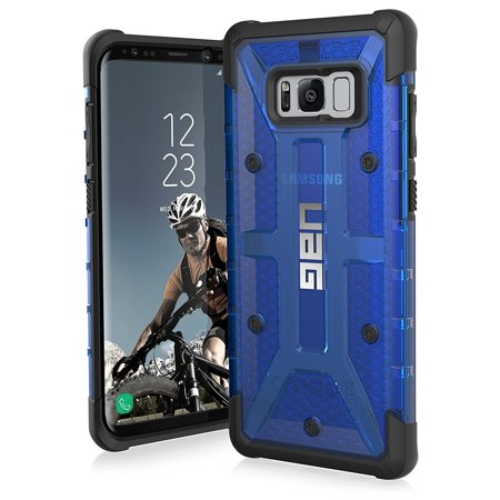Telephone Test Set - UAG Samsung Galaxy S8+ [6.2-inch screen] Plasma Feather-Light Rugged [COBALT] Military Drop Tested Phone Case