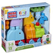 Mega Bloks First Builders - Animal Safari Train